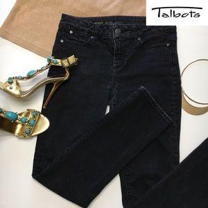 Talbots Heritage, Black Jeans, 2P/26